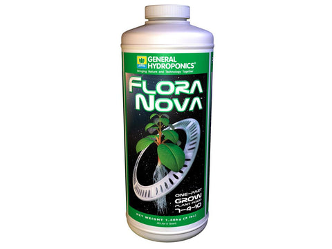 General Hydroponics Nutrient / Additive - Flora Nova Grow 946ml