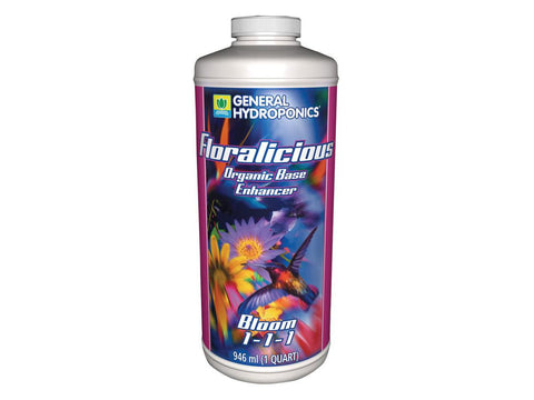 General Hydroponics Nutrient / Additive - FloraLicious Bloom 946ml