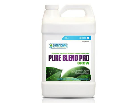Botanicare Nutrient / Additive - Pure Blend Pro Grow  4L