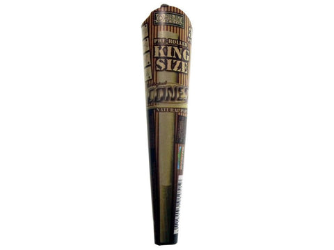 Cones King Size Pre-Rolled Cone Natural Unbleached Tube Pack 3/pk