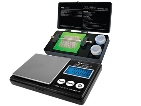 Pro Scale Slick Scale 100g x 0.01g With Concentrate Tool & Containers
