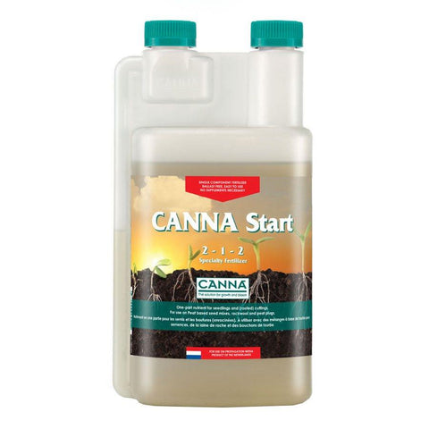 Canna Start 1-Part Nutrient for Seedlings & Cuttings 500ml Bottle 2-1-2
