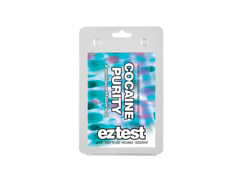 EZ-Test 2.0 Drug Purity and Adulterant Test Kits - Purity Cocaine - 1/pack