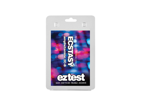 EZ-Test 2.0 Drug Purity and Adulterant Test Kits - Ecstacy (Marquis) - 1/pack