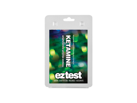 EZ-Test 2.0 Drug Purity and Adulterant Test Kits - Ketamine (Mandelin) - 1/pack