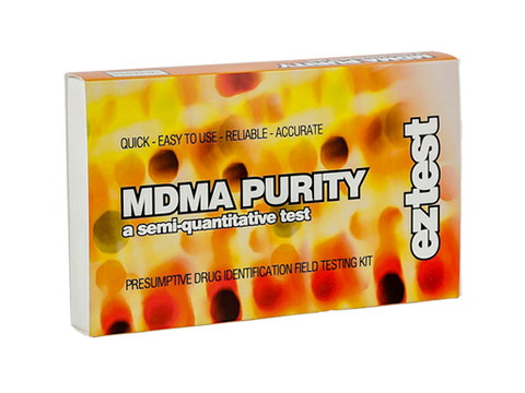 EZ-Test 2.0 Drug Purity and Adulterant Test Kits - Purity MDMA - 10/pack