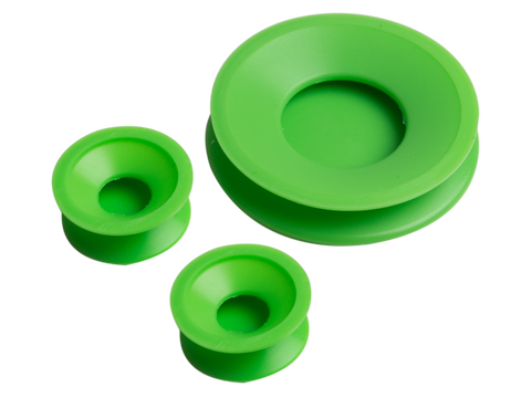 ResOlution Cleaning Caps - Pack w/ 2 Sizes (Tube & Stem) Black, Green or White