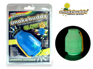 "Smoke Buddy Personal Air Filter - Large (Original) (and ""Best"" Size) - Glow-In-The-Dark"