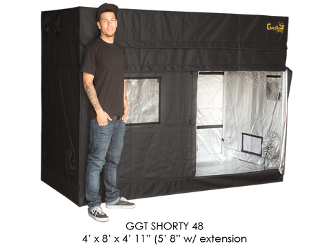 "Gorilla Grow Tent 4x8x5'11""-6'11"" With Included Extension GGT48SH"