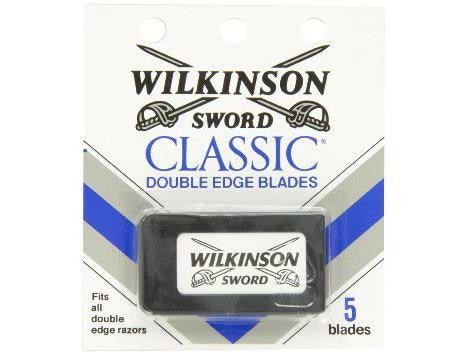Wilkinson Sword Razorblades Double-Sided 5/pack