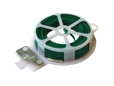 NoName Plant Support Twist Tie Wire Dispenser w/ Cutter 66'