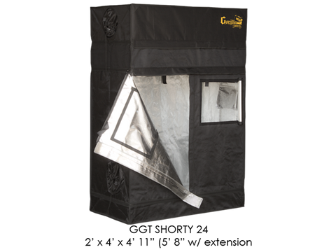 "Gorilla Grow Tent 2x4x5'11""-6'11"" With Included Extension GGT24SH"