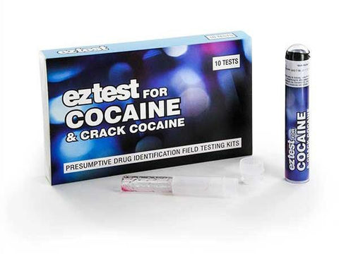 EZ-Test 2.0 Drug Purity and Adulterant Test Kits - Cocaine (Scott) - 10/pack