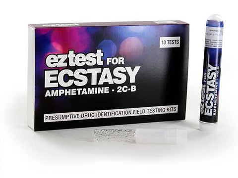 EZ-Test 2.0 Drug Purity and Adulterant Test Kits - Ecstacy (Marquis) - 10/pack