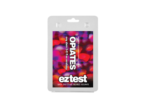 EZ-Test 2.0 Drug Purity and Adulterant Test Kits - Opiates (Mecke) - 1/pack