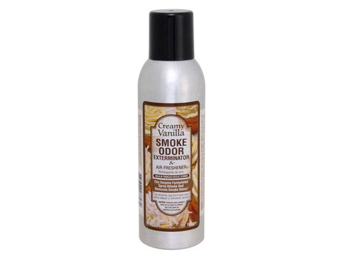 Smoke Odor Exterminator Spray Air Freshener 7oz - Creamy Vanilla