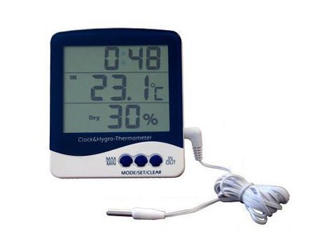 NoName Digital Thermometer Hygrometer In/Out Min/Max SH-110