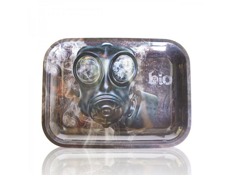BIO Glass Metal Rolling Tray - Medium 12x9""