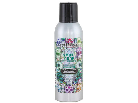 Smoke Odor Exterminator Spray Air Freshener 7oz - Sugar Skull