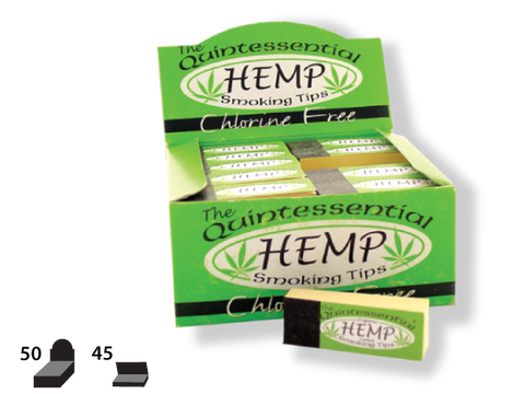 Quintessential Tips - Pure Hemp - 45/pack 50/box