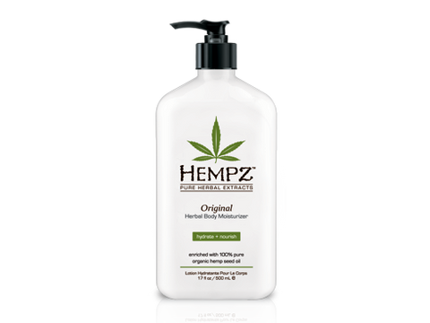 Hempz Herbal Body Moisturizer - 17oz - Original (Floral & Banana)