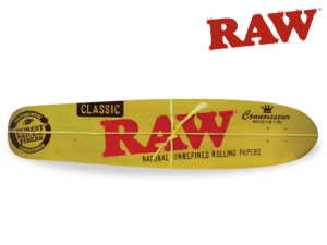 RAW Skateboard Deck Longboard Z9