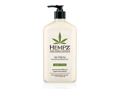 Hempz Herbal Body Moisturizer - 17oz - Age Defying (Vanilla & Musk)