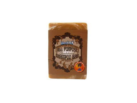 Knotty Boy All Purpose Shampoo Bar Sandalwood