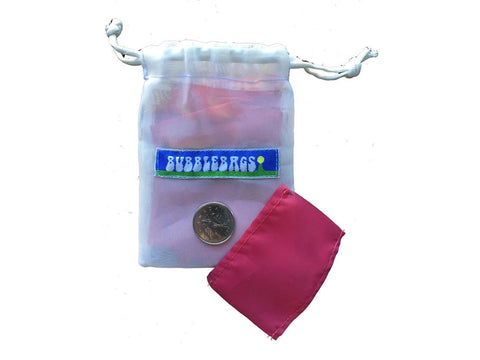 "BubbleMan Press Headies Rosin Tech Bag - 4x5"" Large - 90 Micron"