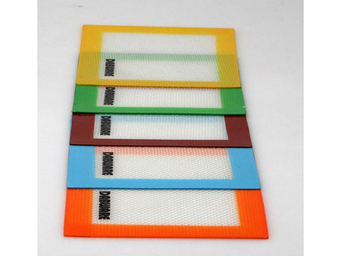 "DabWare Silicone Pad / Mat 5.5x4.5"" Small Assorted Colors DW009"