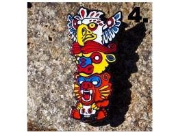 Rolling High Las Vegas Hat Pin - Animal Spirit By Biggs