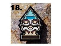 Rolling High Las Vegas Hat Pin - Transdimensional Ascension By Orfin Art