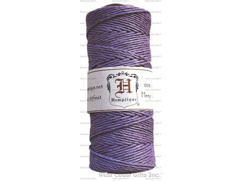 Hemptique - Hemp Cord - 20 LB 50 Gram Spool Variegated - Earthy
