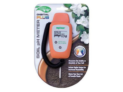 Luster Leaf RapiTest Soil pH Tester Digital PLUS