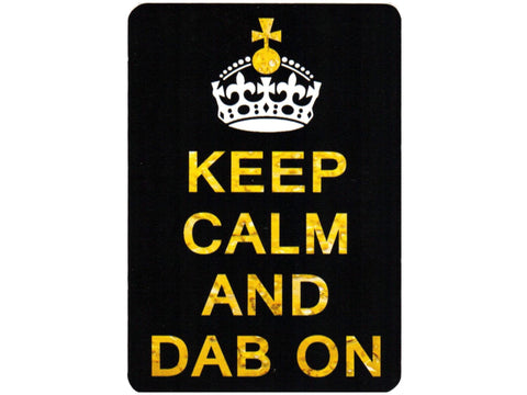 Cycle Stickers Sticker - Keep Calm and Dab On
