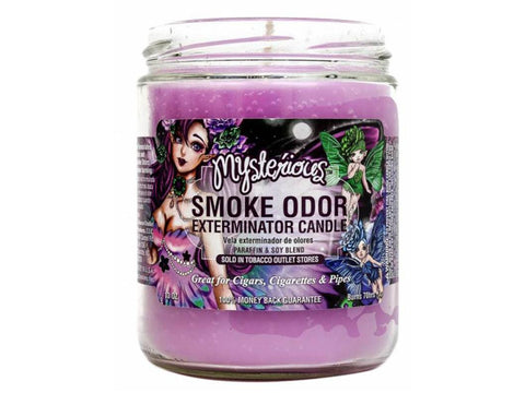 Smoke Odor Exterminator Candle 13oz - Mysterious