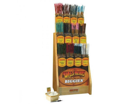 "WildBerry Incense Sticks ""Biggies"" Jumbo Size - 5/pack Assorted Mix-And-Match"