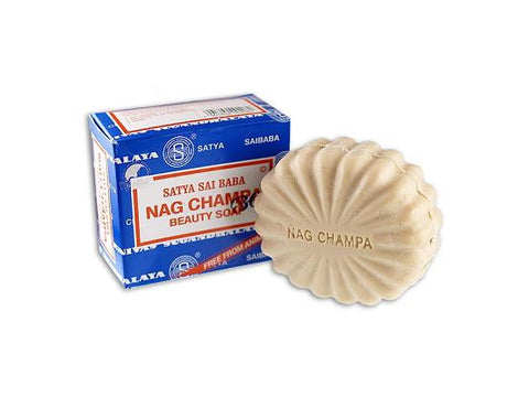 Satya Sai Baba Body Soap - Nag Champa 75g Bar