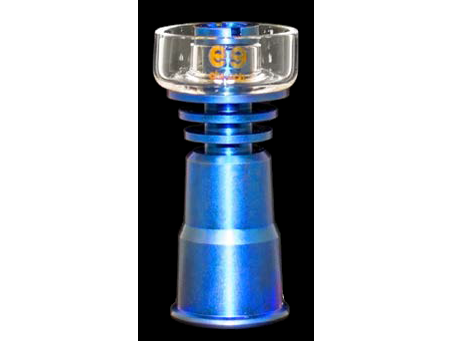 Cheech Glass Domeless Titanium Nail TN-013 Anodized W/ Quartz Dish