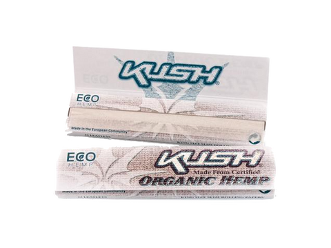 Kush Rolling Papers - King Size Organic Hemp 50/pack