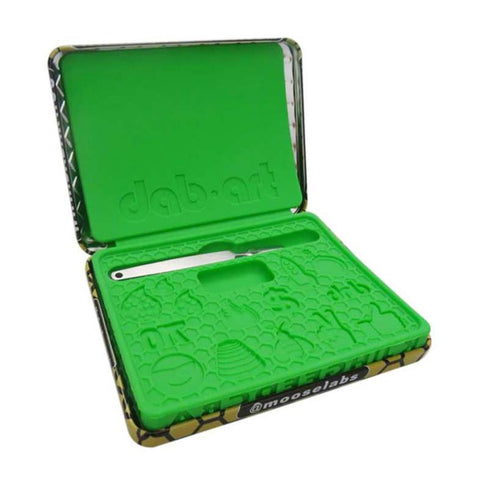 Skilletools Moose Labs Dab Art Tin With Molds & Tool Silicone DabArt Kit
