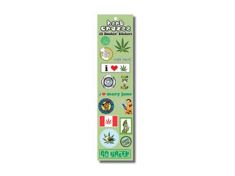 "SWAG Sticker Mixed Pack Assortment ""StickerPack"" - Herb Crazee"