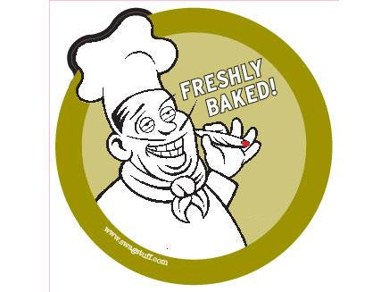 SWAG Sticker - Freshly Baked