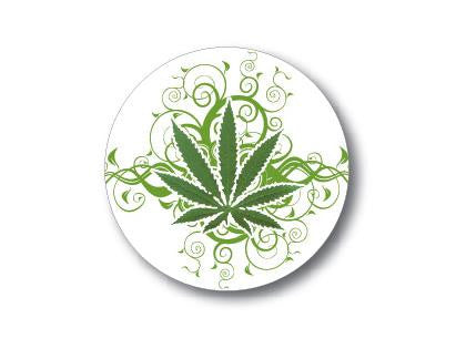 SWAG Sticker - Fancy Pot Leaf