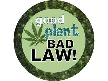 SWAG Sticker - Good Plant Bad Law