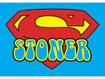 SWAG Sticker - Super Stoner