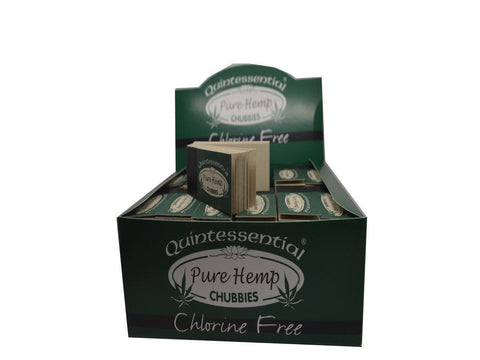 Quintessential Tips - Pure Hemp Chubbies - 45/pack 60/box