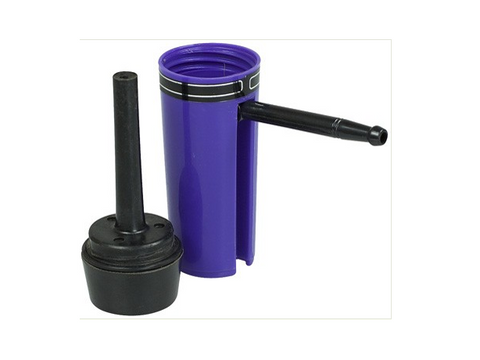 NoName Aqua Pipe -Like Tiny Relatively Indestructible Plastic Flip-Out MouthPiece WaterPipe