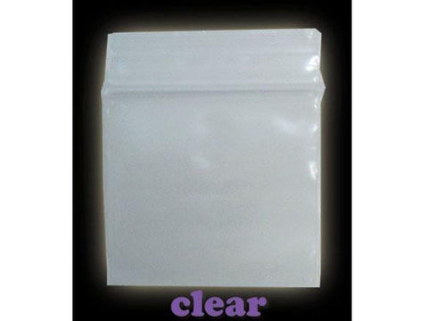 Apple Brand Zipper Lock Bags / Baggies 100pack Various Sizes Available - Clear