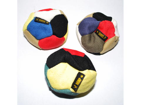 Hacky Sack - Hemp 12-Panel Sand-Filled